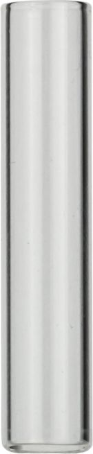 1ml Prøveglas N8 8,2mm, 40mm, klar, flad bund, 100