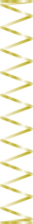 Metal fjeder for Indsats 702972, 100stk