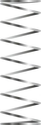 Metal fjeder (optional) for Indsats 702968 + 70296