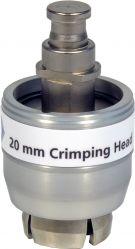 Lukkehoved for 20mm, kapsler (for Elektronisk high