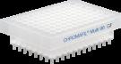 CHROMAFIL 96-pos filterplade, glasfiber, 1um, 1stk