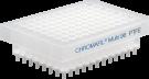 CHROMAFIL 96-pos filterplade, PTFE, 0,2um, 1 stk