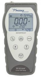 Portable cond.-meter kit without cond.-cell, incl.