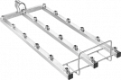 Miele A301/4 EasyLoad modul 3x6 uden dyser