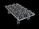 Miele A861 EasyLoad holder til A301 modulerne