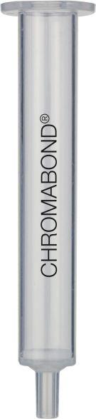 Chromabond kolonne, tom, PP, filtre, 1ml, 100 stk
