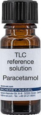 Paracetamol reference solution, pack of 8ml