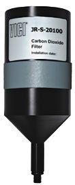 Carbondioxid filter til reservoirflaske